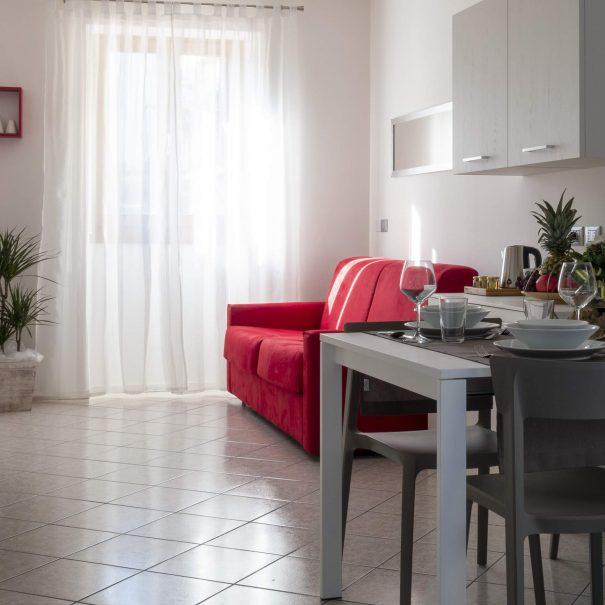 La Casa Verde Apartment - Livingroom full-min