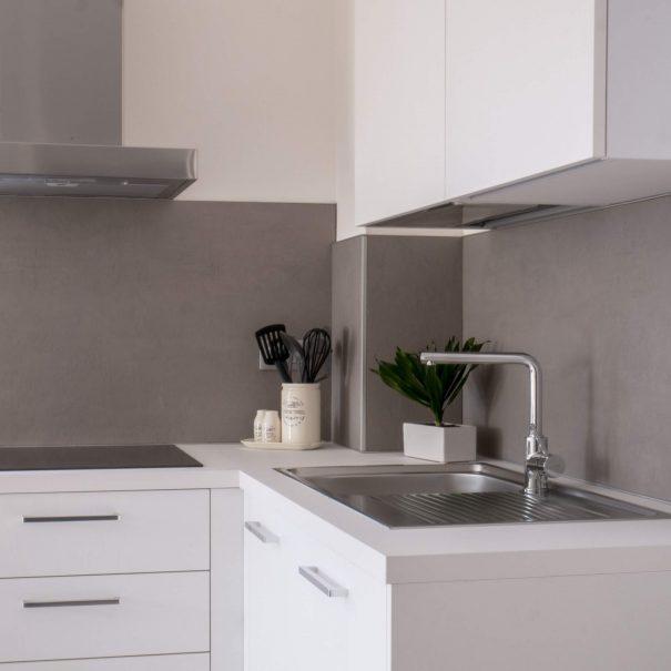 La cucina è privata e autonoma, per soddisfare i tuoi orari e le tue esigenze